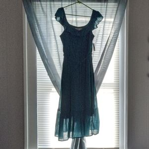 NWT Old Navy Teal Maxi Dress